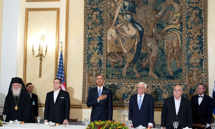 President Obama at State Dinner (White House Photo)