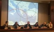 "Ambassador Pyatt at the ""Foreign Policy under Austerity"" Book Panel at the Greek MFA (State Department Photo)"