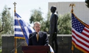 Ambassador Pyatt Delivers Remarks on the Occasion of the 70th Anniversary of Marshall Plan (State Department Photo)