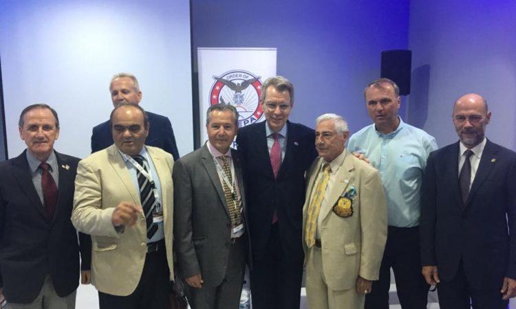 Ambassador Pyatt with AHEPA leadership at TIF 2018 (State Department Photo)