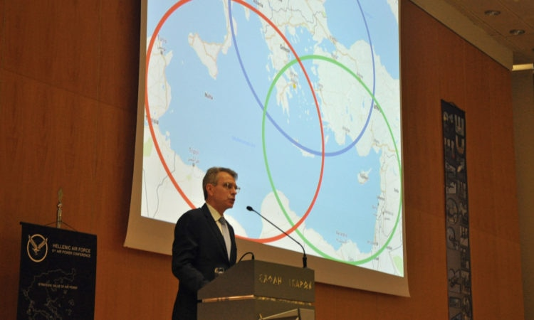 Ambassador Pyatt Speaks at the 6th Air Power Conference (State Department Photo)