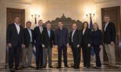 Prime Minister Alexis Tsipras meets U.S. Senators