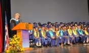 Ambassador Pyatt addresses at the ACS Commencement (State Department Photo)