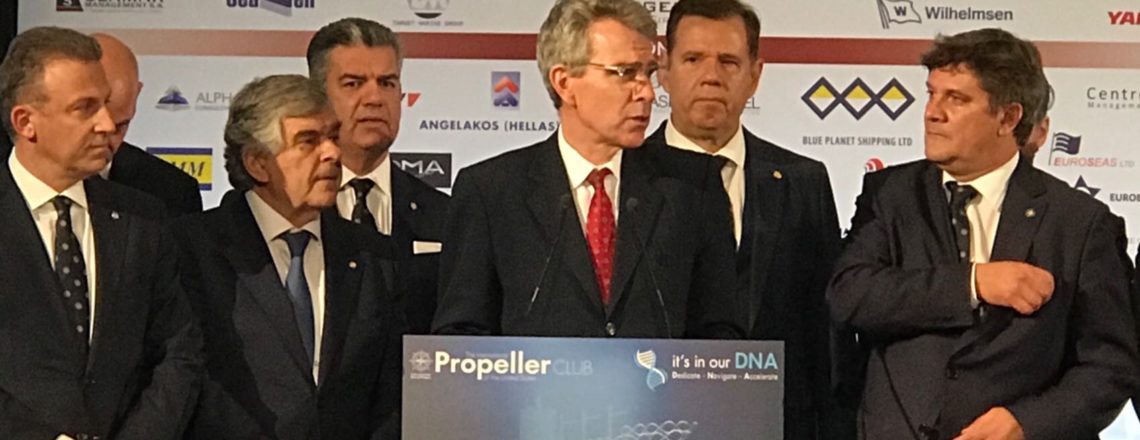 Ambassador Pyatt's Remarks: Annual Propeller Club Amver Awards