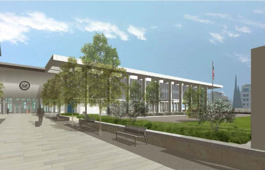 Artist Rendering of the Embassy Rehabilitation Project