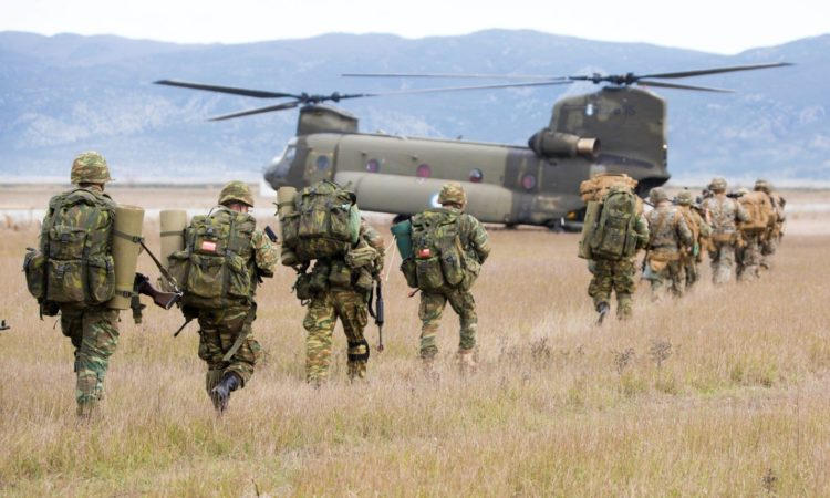 """""""Alexander the Great"""" military exercise in Volos"""
